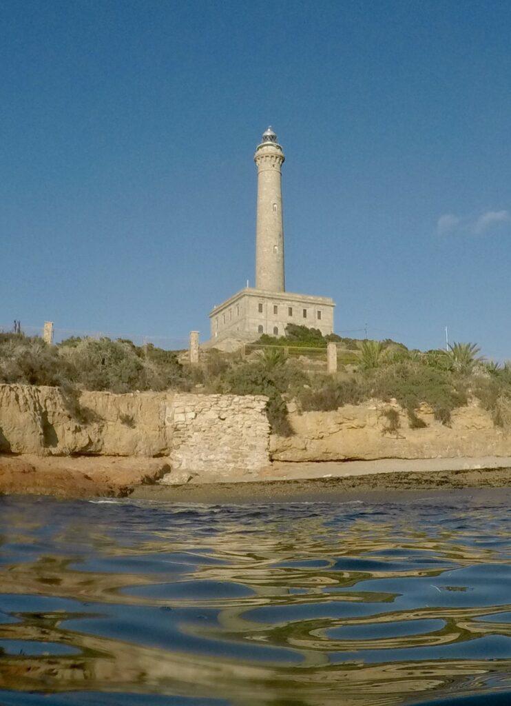 Vacaciones de verano sin estrés. Faro del Cabo de Palos (Murcia)