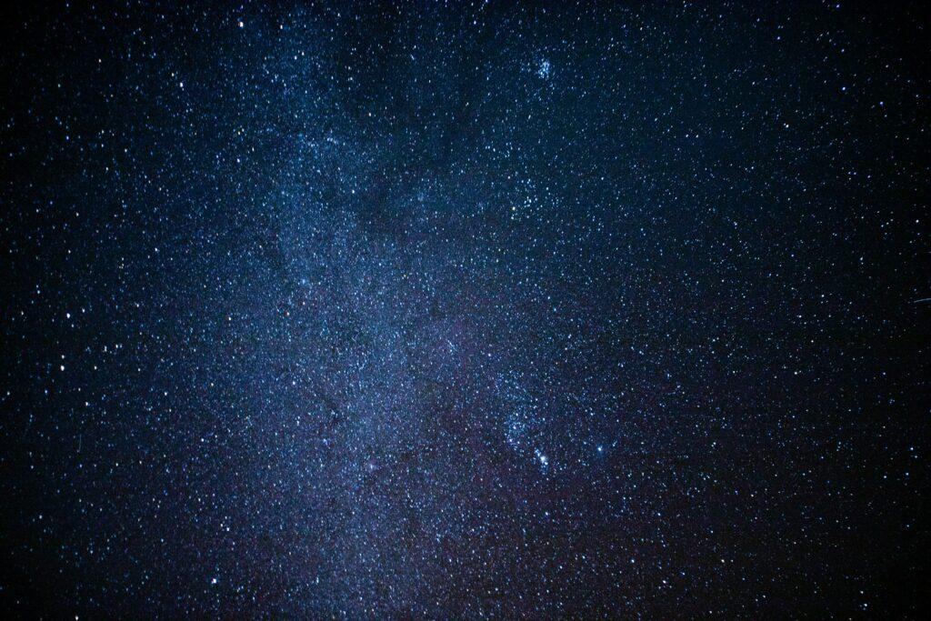 Disfruta del cielo estrellado